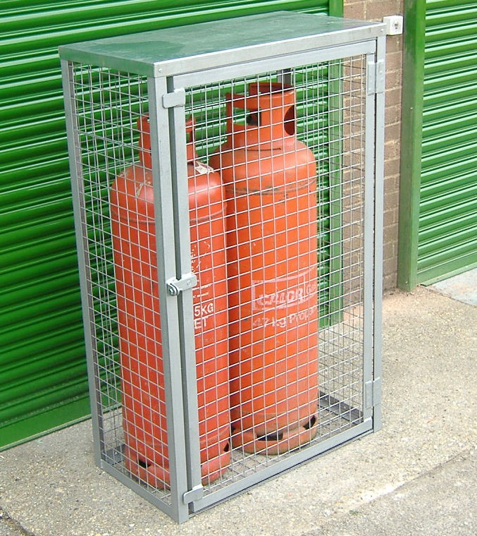 gas bottle cage - Gas Cylinder Cages